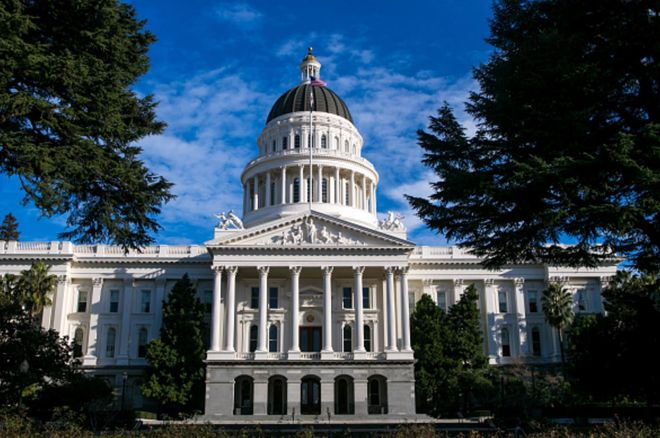 California's capitol building