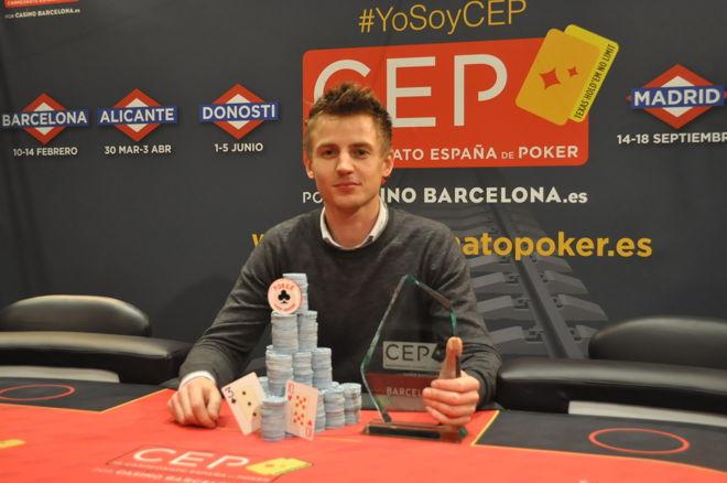 Rembert R Net encabeza la clasificación del Campeonato de España de Poker 2016 0001