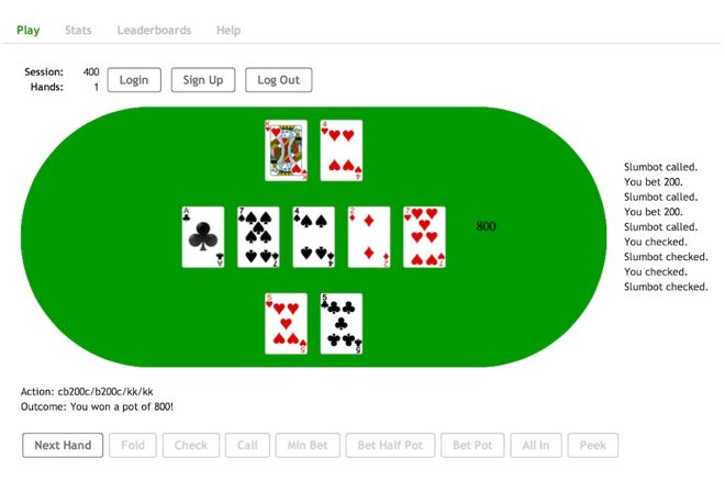 Poker and AI: Reporting from 2016 Annual Computer Poker Competition, Part 1