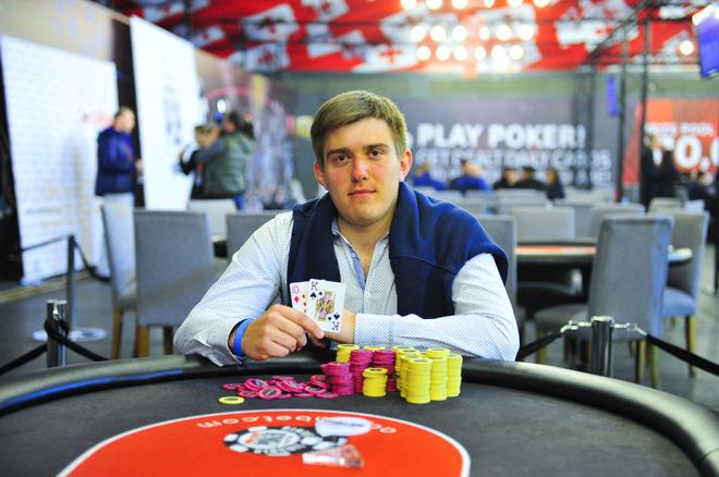 """Dominykas Mikolaitis iškovojo """"WSOP-C"""" čempiono žiedą 0001"""
