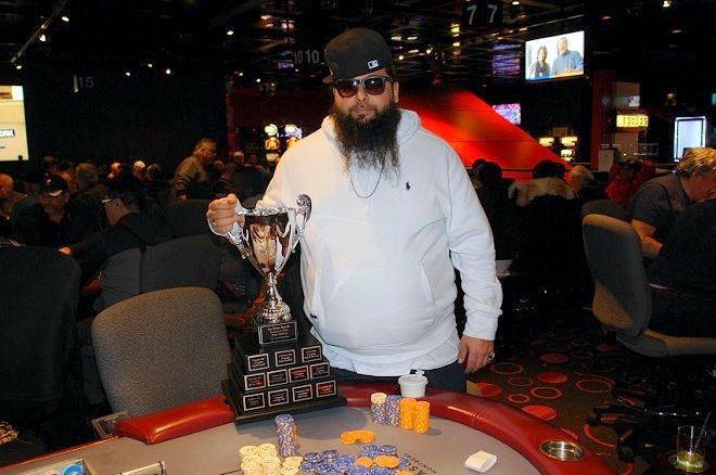 Randy Chalil Série Royale de Poker Casino de Montréal