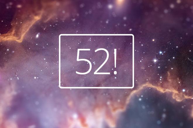 52! numar factorial aranjamente carti de joc