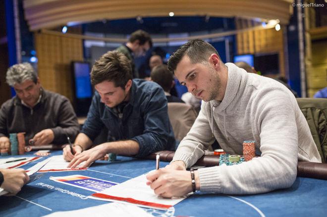 Miguel Mora lidera tras el Día 2 del Estrellas Poker Tour Madrid 2016 0001