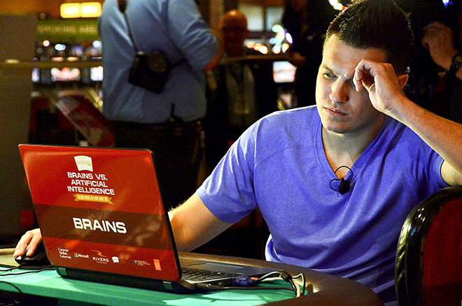 Doug Polk taking on the Claudico poker bot
