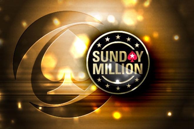 """Nepraleiskite """"Sunday Million"""" jubiliejaus su 10 milijonų dolerių garantija 0001"""