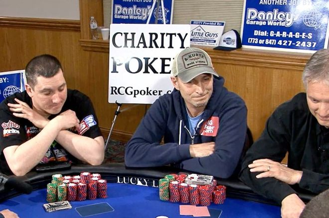Reading Poker Tells Video: Worried, Stretched Lips When Betting