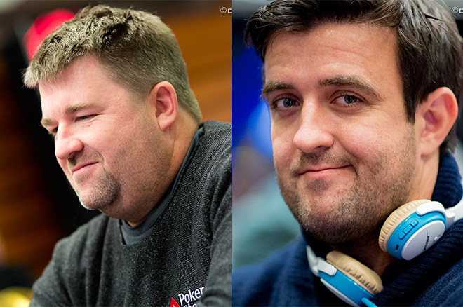 Chris Moneymaker and Andre Akkari