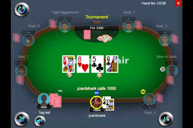 Jonathan Little Finds a Fold After a Bad River Card