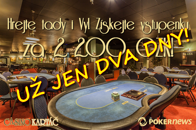 Vstup do MAJOR DEEP STACK 800 000 CZK s PokerNews ZADARMO 0001