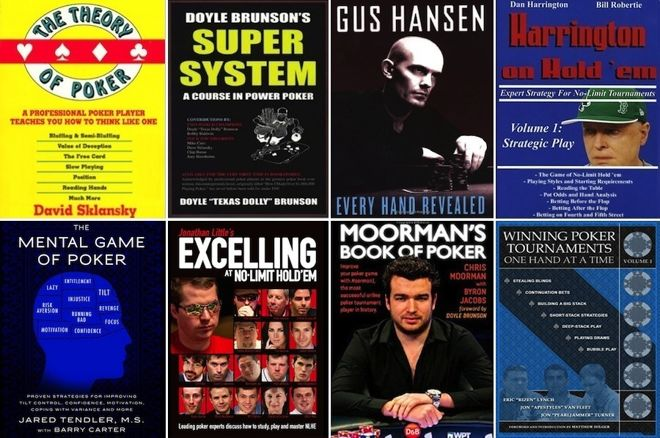 8 Online Poker Tournament Strategy Books to Crush Every Game