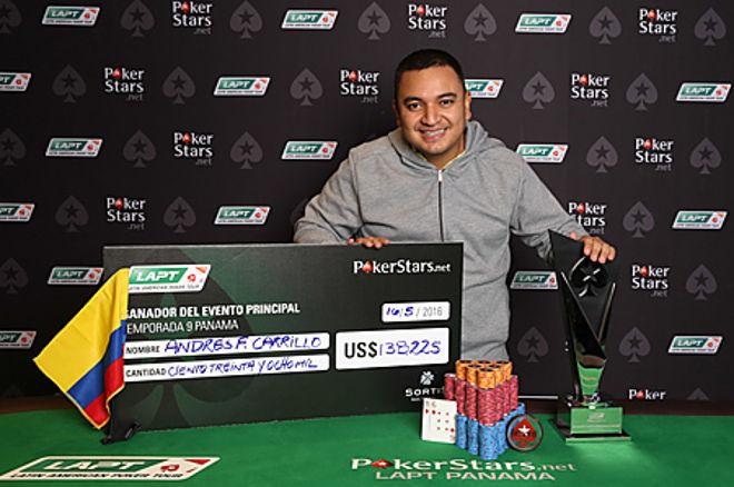 El colombiano Andrés Carrillo gana el LAPT9 Panamá; Raúl Páez solo pudo ser quinto 0001