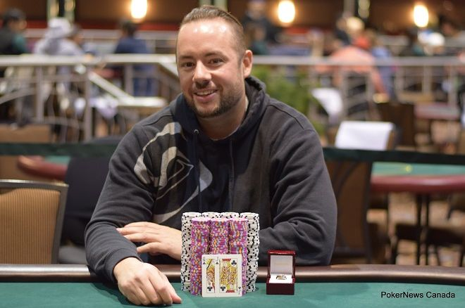 Justin Skamanis Casino Regina Diamond Poker Classic
