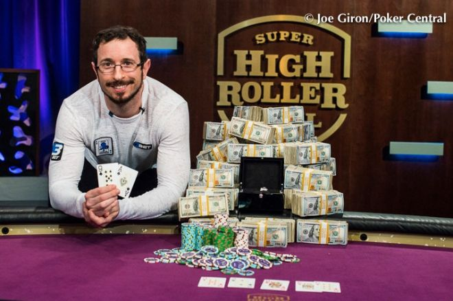 Brian Rast, 2015 Super High Roller Bowl champion