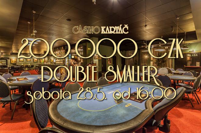 Turnaj DOUBLE SMALLER již ZÍTRA nabízí 200.000 CZK 0001