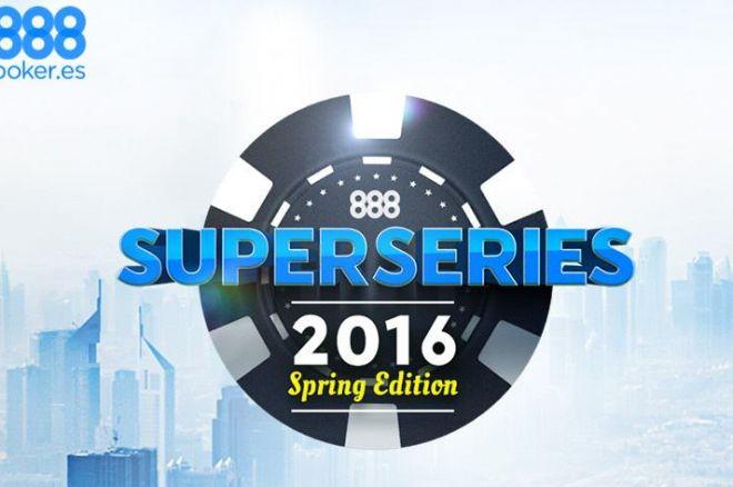 Comenzaron las SuperSeries de Primavera de 888poker.es: 'Vasudeva27' y 'sparrita' se... 0001
