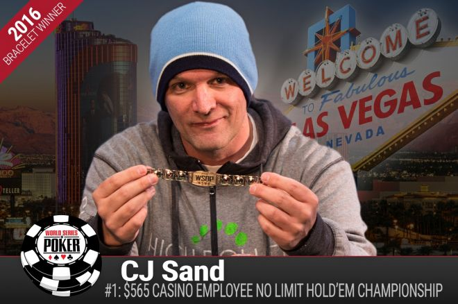 Christopher Sand 2016 WSOP Event #1