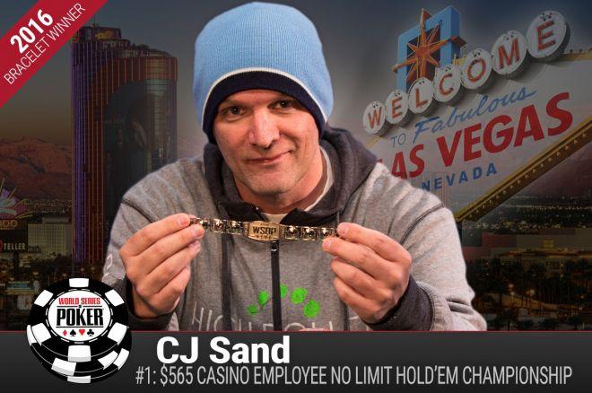 Christopher Sand 2016 WSOP Event #1