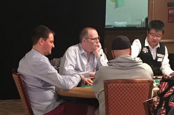 Howard Lederer at the 2016 WSOP