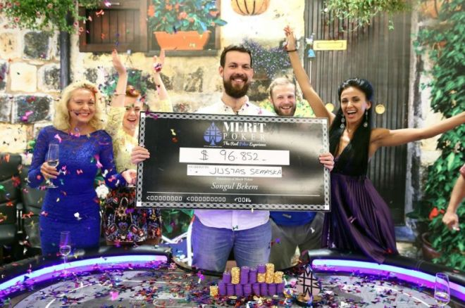 """""""Retro Poker Cup"""" finalinėje dienoje Justas Semaška susižėrė 123,000 dolerių! 0001"""