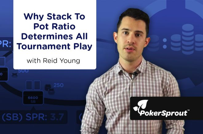 Why Stack-to-Pot Ratio Determines All Tournament Play