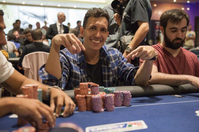 El brasileño Rodrigo Requiao Strong toma ventaja para hacer con el PokerStars Marbella... 0001