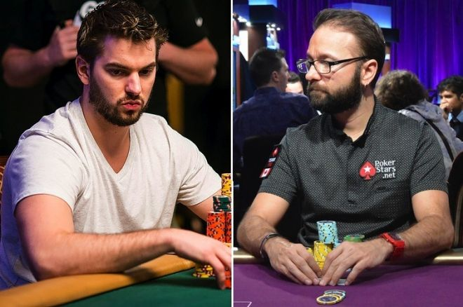 Mark Herm (left) and Daniel Negreanu (right)