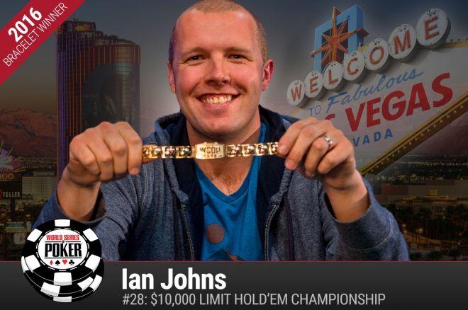 Ian Johns WSOP