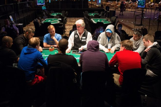 """A """"shootout"""" final table at the WSOP"""