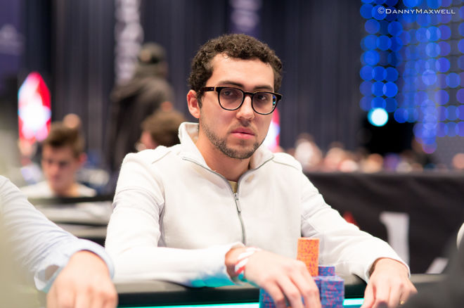 Brazilian Rafael Moraes leads at the 2016 WSOP Main Event Day 4 Dinner Break 0001