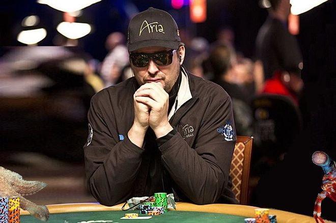 Phil Hellmuth (dealing with the animals)