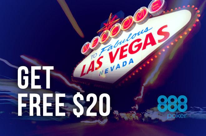 бесплатные $20 на 888poker