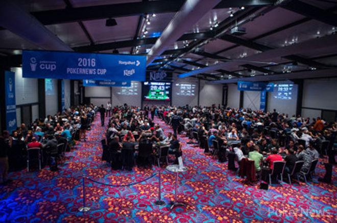 """""""PokerNews Cup"""" antroji pagrindinio turnyro diena: kovą dėl didžiųjų prizų pratęs... 0001"""