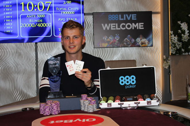 Urmo Velvelt Wins the 2016 888Live Tallinn $30,000 Guaranteed Main Event 0001