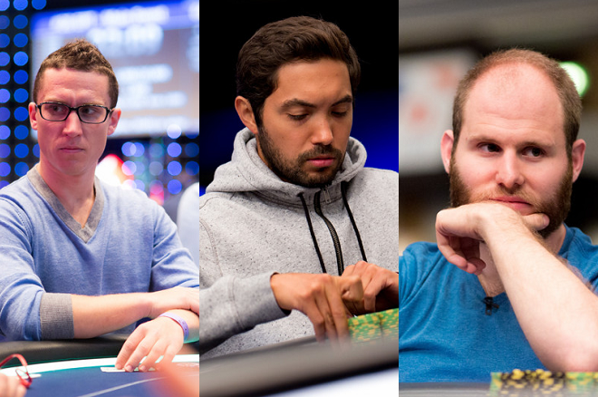 Daniel Dvoress Timothy Adams Sam Greenwood EPT Barcelona Super High Roller