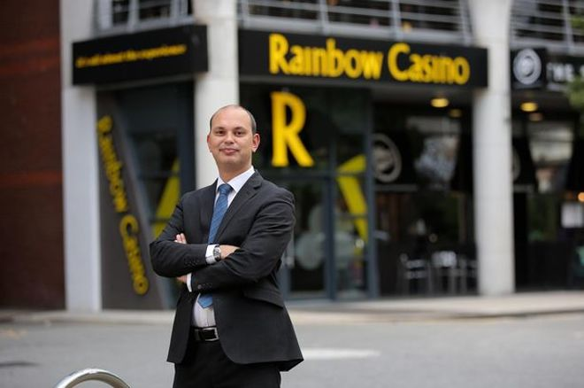 Richard Phillips, General Manager at Rainbow Casino Cardiff