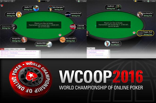 WCOOP 2016
