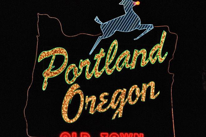Portland, Oregon sign