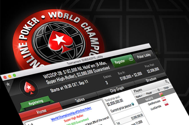WCOOP $100,000 Super High Roller