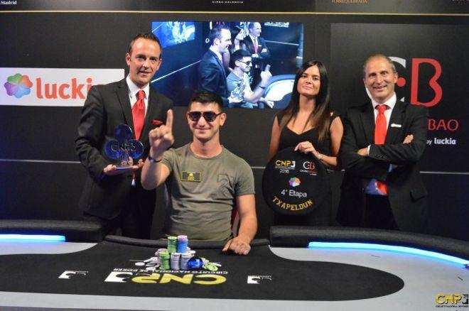Mladen Ivanov confirma su ventaja ganando el Main Event del CNP Bilbao 2016 0001