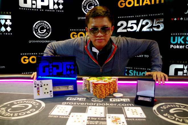 Tommy Le: 2016 GUKPT Edinburgh Champion