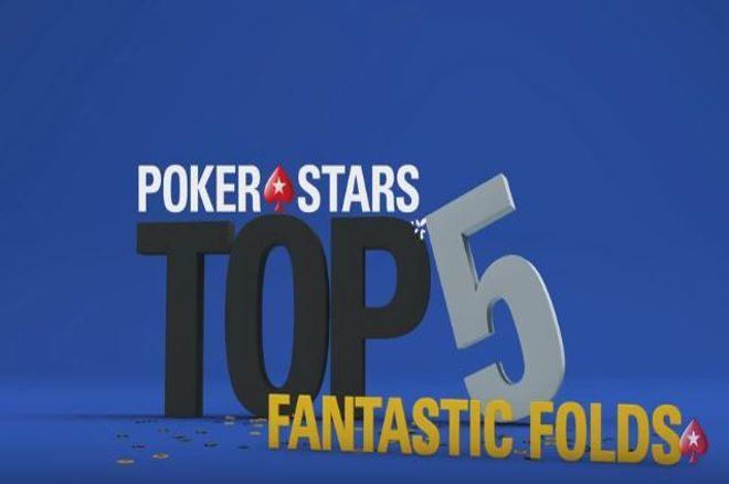 PokerStars Top 5 фолдов