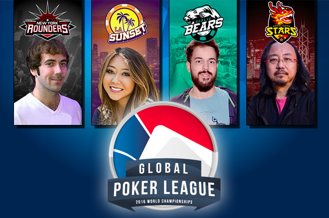 Global Poker League Jason Mercier, Maria Ho, Guo Dong, Dominik Nitsche