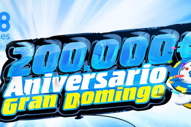 El Gran Domingo elevará su garantizado a 200.000€ para celebrar su 4.º aniversario 0001