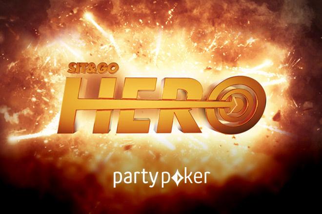 partypoker Sit & Go Hero