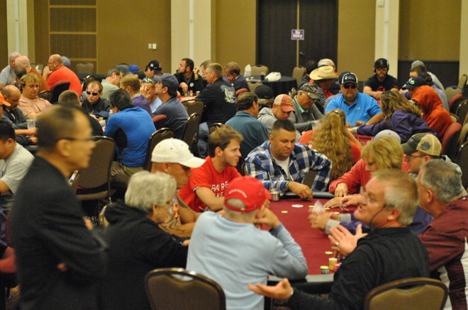 Mid-States Poker Tour Grand Falls