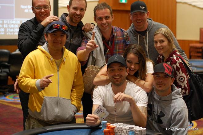 Waylon Gibson 2016 SIGA Poker Championship Dakota Dunes Casino