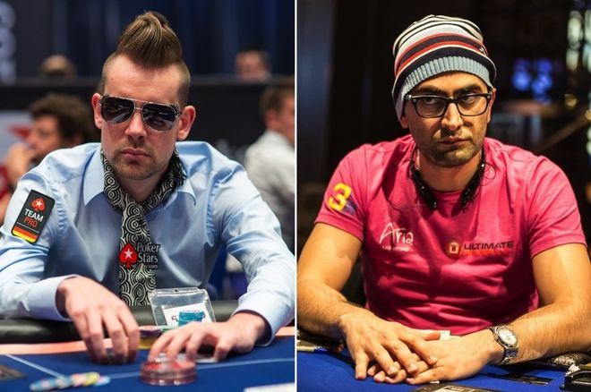 George Danzer (left) and Antonio Esfandiari (right)