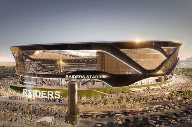 Proposed Raiders Stadium for Las Vegas (Manica Architecture)