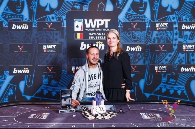 PokerNews Boulevard - Nederlander Paul Gresel wint WPT National in Brussel voor €45.000