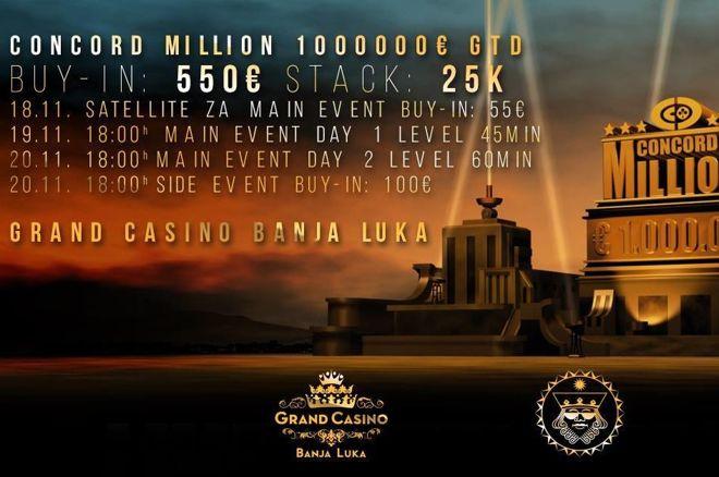 Concord Million 19-20 Novembar u Grand Casinu Banja Luka 0001